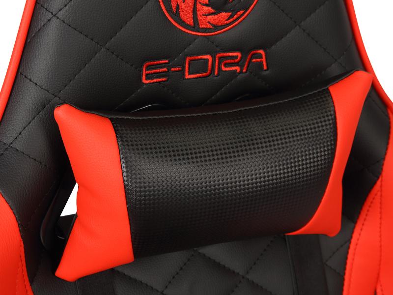 Ghế chơi game cao cấp E-Dra ARES EGC207  Black Red