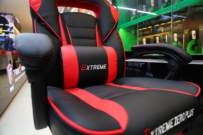 Bỏ 3 triệu đồng mua ghế gaming Extreme Zero Plus: Chân thép chắc chắn, kê chân ngủ ngon lành - Ảnh 3.