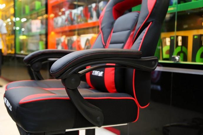 Bỏ 3 triệu đồng mua ghế gaming Extreme Zero Plus: Chân thép chắc chắn, kê chân ngủ ngon lành - Ảnh 9.